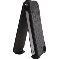 Prestigio Protective Leather Case Crocodile Black for iPhone 4 (PIPC4105BK)